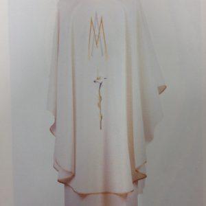 casula mariana poliestere bianca