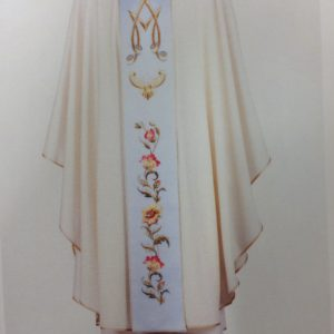 casula mariana stolone lana/seta bianca