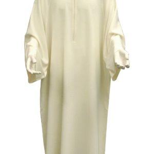 camice svasato collo coreana 100%poliestere tramatura in lino