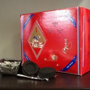 """Carboncini ad accensione rapida per incenso""""3 Magi"""" confezione da 100 pezzi diametro 33 mm."""