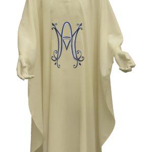 casula mariana ricamo diretto poliestere
