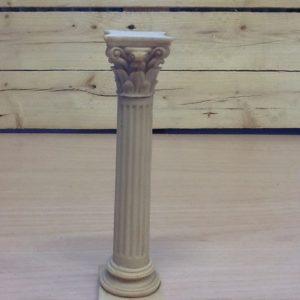 Colonna romana in resina cm.4.5x4.5x18h