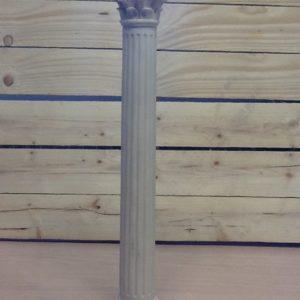 Colonna romana in resina cm.8x8x47.5h