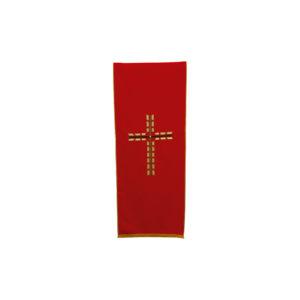 coprileggio rosso croce novità 100%poliestere