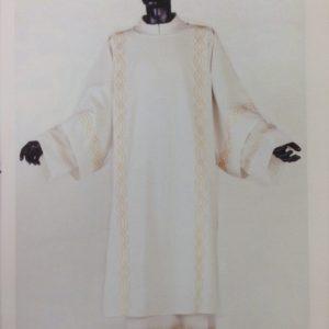 dalmatica 100%pura lana nei 4 colori ricamo torciglione