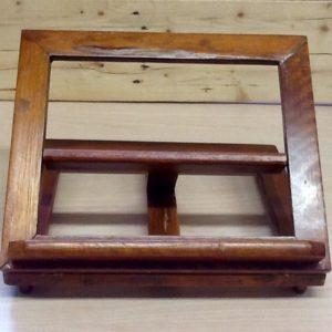 Leggio in legno tre livelli,cm.28x34