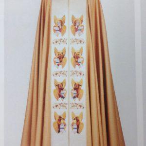 piviale lana lurex oro 4 evangelisti