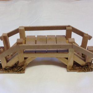 Ponte in legno cm.14.5x5x6h