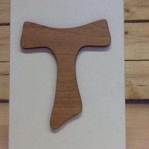 """Quadretto in legno """"Tao""""cm.13x18.5h"""
