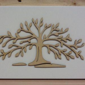 """Quadro in legno """"Albero Della vita"""" cm.30x21h"""