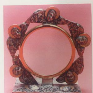 teca evangelisti bronzo bicolore 14x14