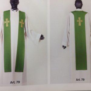 tristola nei 4 colori ricamo croce